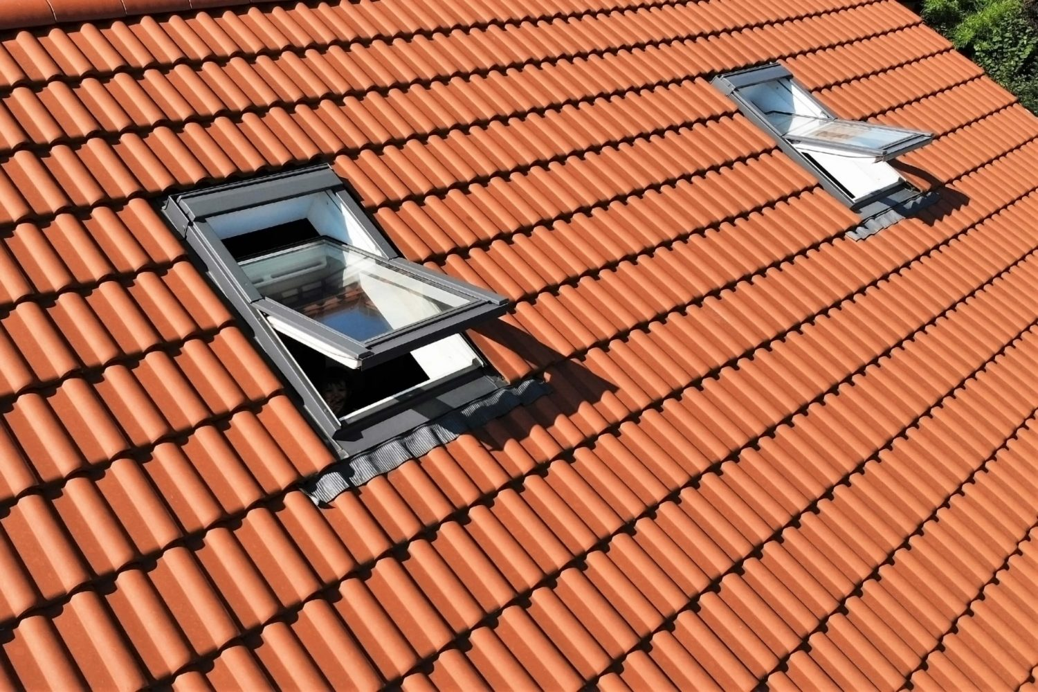 Skylights are a source of water leakage